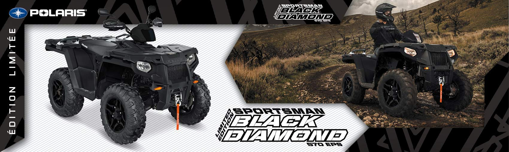 Sportsman 570 EPS Black Diamond